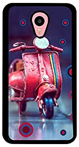 PrintVisa Scooter Cute Case Cover for Meizu M1 Note (2D-MM1N-D8132, Multicolour)