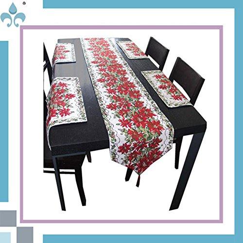 Preisvergleich Produktbild ZQG® Tischläufer Letzte Weihnachten Kollektion Jacquard Striped Home Textile Tischdecken Leinen Tischdecke