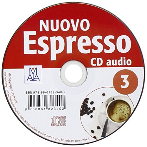 Nuovo espresso. CD Audio: 3