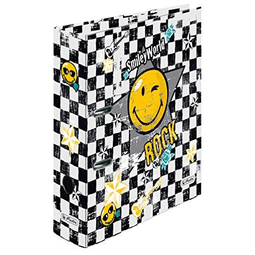 Preisvergleich Produktbild Herlitz 11222999 Motivordner A4 maX.file, 8 cm, Smiley Rock