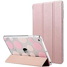 iPad Mini 1/2/3 del caso, ULAK iPad Mini ultra delgado con Auto Estela magnética y duerme función elegante de la cubierta del caso del soporte con el Diseñador de Shell trasero para iPad Mini 1/2/3 (Oro