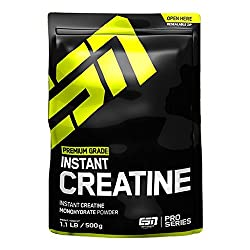 ESN Instant Creatine Monohydrate - Creatin Pulver, Pro Series, Lemon Lime, 1er Pack (1 x 500 g)