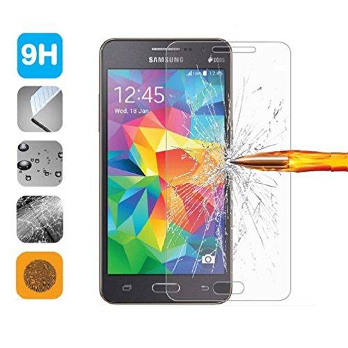 1 X Samsung Grand Prime G531 Clear Pellicola Protettiva per Samsung Galaxy Grand Prime VE G531/Grand Prime SM-G530H G530FZ Temperato Screen Protector