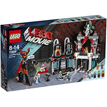 The LEGO Movie 70809: Lord Business' Evil Lair