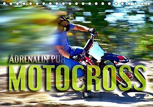 Motocross - Adrenalin pur (Tischkalender 2019 DIN A5 quer): Atemberaubende Szenen aus der Welt des Motocross (Monatskalender, 14 Seiten ) (CALVENDO Sport)