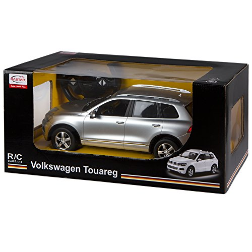 RC Auto kaufen Spielzeug Bild 5: Rastar Volkswagen Touareg, RC Auto, Maßstab 1: 14 grau*
