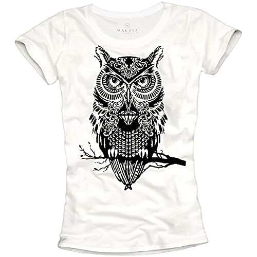 dia del orgullo friki Camisetas chulas mujer - LECHUZA