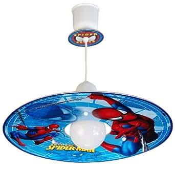 dalber 10602 h ngeleuchte spiderman kinderzimmer lampe leuchte beleuchtung. Black Bedroom Furniture Sets. Home Design Ideas