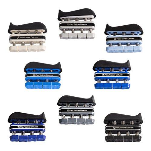 8er SPAR-SET | Flex Trainer DELUXE | Handtrainer Fingertrainer | Handtrainingsgerät | Fingertrainingsgerät - Digi-flex Handtrainer