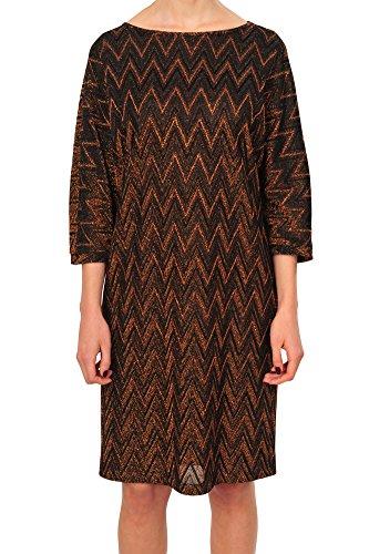 M Missoni Kleid Damen Schwarz Mehrfarbig Polyester M IT (M Missoni Kleider Für Damen)