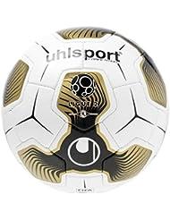 Uhlsport LIGUE 2COMPETITION–Balón de Match, blanco/negro/dorado, talla 5