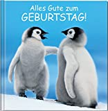 Alles Gute zum Geburtstag: Geschenkbuch mit liebevollen Glückwünschen.