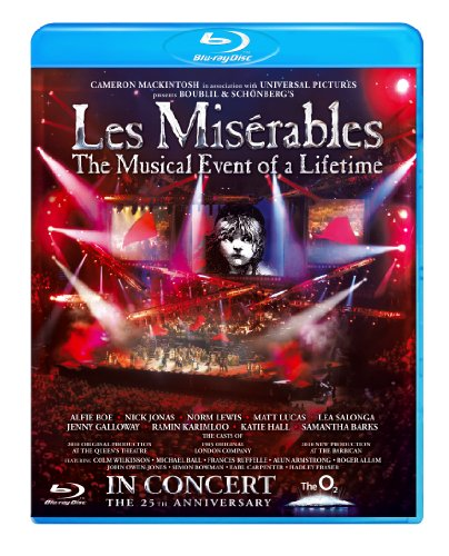 Les Miserables - 25th Anniversary [Blu-ray] [Region Free]