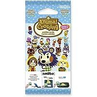 Nintendo - Pack De 3 Tarjetas amiibo Animal Crossing HHD, Serie 3
