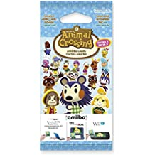 Nintendo - Pack De 3 Tarjetas amiibo Animal Crossing HHD, Serie 3