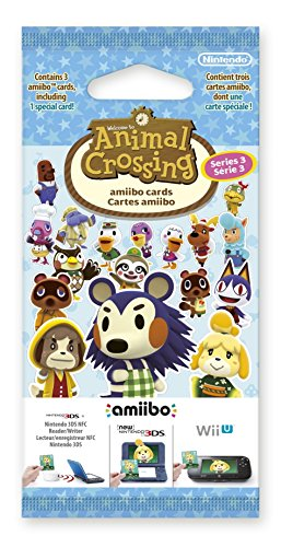 Animal Crossing amiibo-Karten Pack (Serie 3)