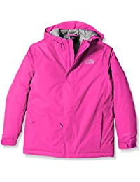 The North Face Y Snowquest Jacket - Chaqueta unisex para niños, color rosa, talla