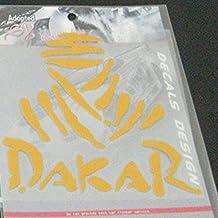 Nusey (TM) 11 * 11cm Dakar Autocollants voiture pour le style voiture opel renault lada Off Road DAKAR voiture couvre bandes r¨¦fl¨¦chissantes pour vw ford peugeot mazda