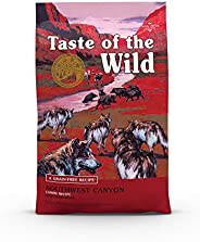 Taste of The Wild Grain Free High Protein Real Meat Recipe Southwest Canyon Premium Dry Dog Food 12.7kg