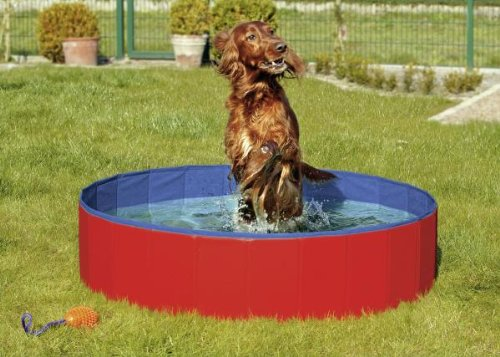 Artikelbild: Karlie Flamingo 31809 Doggy Pool Cover, rot Diameter 160 cm