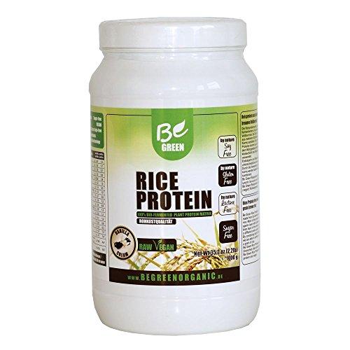 #Reisprotein BeGreen Vegan Reiseiweiss Protein Eiweiss vegetarisch Reis Rice Be Green 1000g (Vanille)#