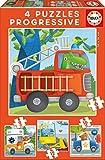 Puzzle 6 pièces - 4 Puzzles - Rescue Patrol