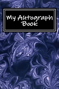 My Autograph Book Lined Journal