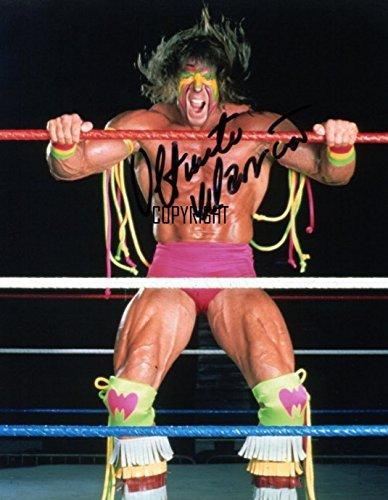 The Ultimate Warrior wrestling fotografia firmato edizione limitata + stampato Autograph