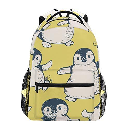 Rucksack Rucksack Perfekt für Schulreisen Cartoon-Muster Cute Penguins Daycare für Teen Boys Girls (Teen Cute Boys)