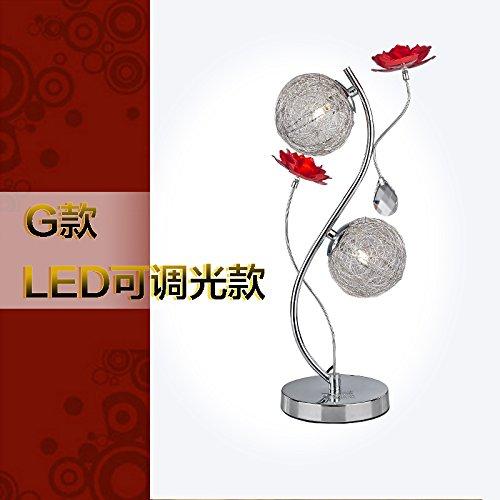 Nautische Outdoor-leuchten (SFHSfjkgh Warme Hochzeit Hochzeit Raum Schlafzimmer Leuchte Lampe Mit Lampe Crystal Lampe Dekoration Moderne Kreative RomantischG)