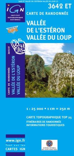 3642ET VALLEE DE L'ESTERON/VALLEE DU LOUP