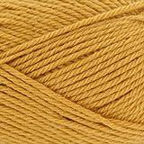 Rowan Handstrickgarn pure wool worsted Farbe 00133 senfgelb 100 % Schurwolle 100 g waschbar 200m Lauflänge