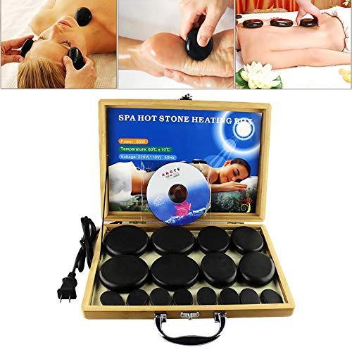 Conjunto de masajes con Pietras calientes 16 unidades...