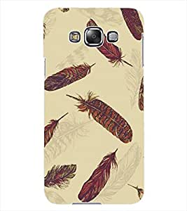 ColourCraft Feathers Design Back Case Cover for SAMSUNG GALAXY GRAND MAX G720