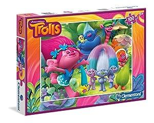 Clementoni - Trolls 353007250. Puzzle de 100 Piezas.