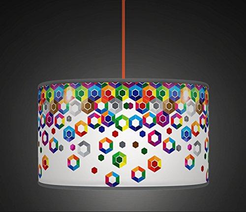 50cm-20-multi-hex-retro-geometric-handmade-giclee-style-printed-fabric-lamp-drum-lampshade-floor-or-