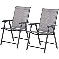 Mojawo ® 6 pcs Alu//Rotin Synthétique Lot Chaise bistro chaise chaise de jardin Argent//Blanc