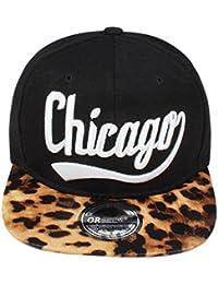 Original Snapback Cap Leopard Chicago