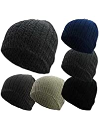 d6ad78172d0d9 Flagstaff Mens Adults Unisex Skull Cap Beanie HAT 5 Colours Ribbed Warm  Winter