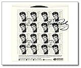 Elvis Presley | Ersttagsbrief |Folienbogen |USA |80. Geburtstag |US-Post |Forever |Ikone der Musik |Elvis-Geburtstags-Briefmarke |King of Rock 'n' Roll