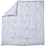 Sanderson Eglantine funda de edredón algodón Escarcha, algodón, Givre, 140 x 200 cm