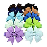 Best Hair Bows - Chronex Baby Girl's Elastic Hair Bow Hairband Review