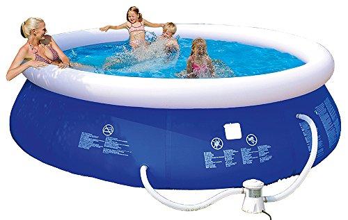 Happy People 77770 Quick Up Pool, blau