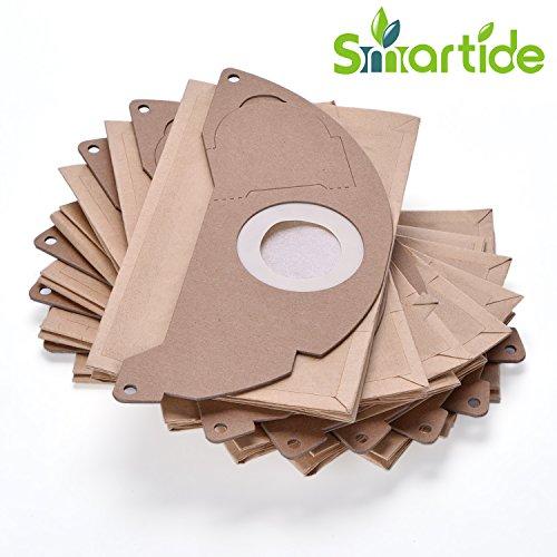 Smartide 6.904–322Sacchetti in carta con filtro, per aspirapolvere Karcher 6 pack