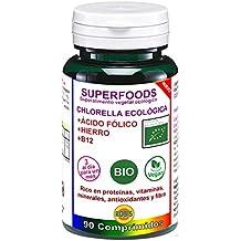 Robis Superfoods Chlorella Bio Vitaminas para Veganos  - 90 Cápsulas