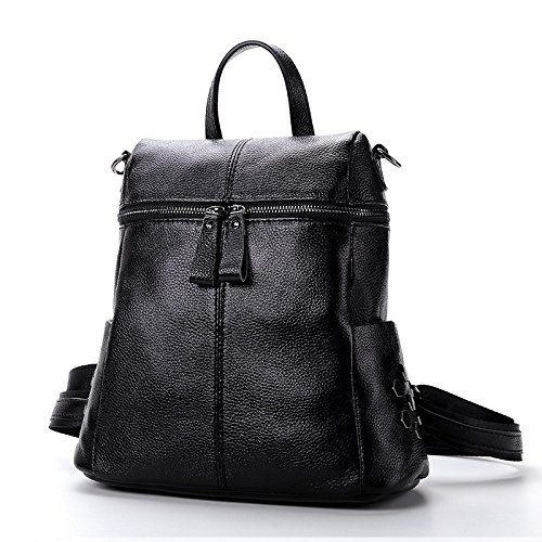 la borsa di pelle nuova donna multi o cinghie,blu black