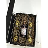 Monkey 47 Gin Tonic Set / Geschenkset - Monkey 47 Schwarzwald Sloe Gin 500ml (29% Vol) + 4x Thomas Henry Tonic Water 200ml