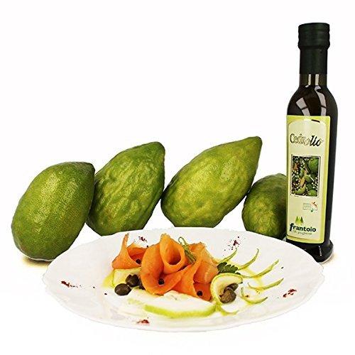 Cedrolio olio extravergine di oliva aromatizzato al cedro di calabria prodotto artigianale 25 cl