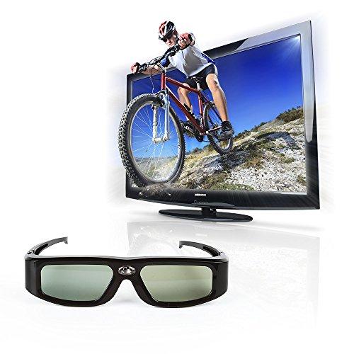 Das Gut - GX-30 - Gafas 3D (96-144 Hz, IR Universal BenQ W1070 Acer Optoma Sharp VIVITek Mitsubishi DELL DLP-Link), color negro