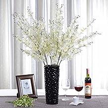 1x artificial jasminum flor artificial para la decoracin del hogar sin jarrn y cesta 1bunch